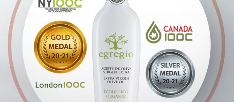 Egregio, mejor aceite de la D.O.P. Estepa esta campaña, consigue importantes galardones en Londres y Canadá