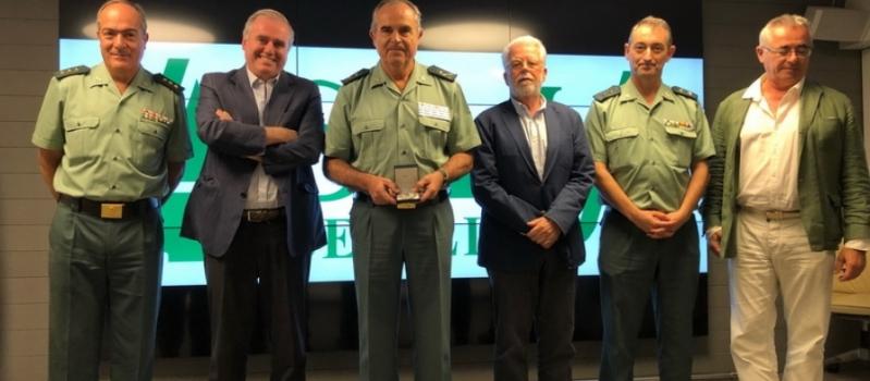 ASAJA-Sevilla concede la Distinción de Honor a la Guardia Civil por su colaboración permanente con los…