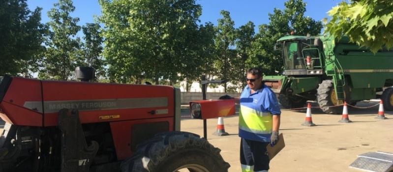 Esta semana podrás pasar la ITV agrícola en El Cuervo, Cañada Rosal, Fuentes de Andalucía, Lora…