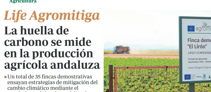La huella de carbono se mide en la producción agrícola andaluza