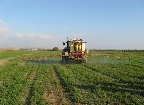 Regulación de maquinaria de tratamientos fitosanitarios