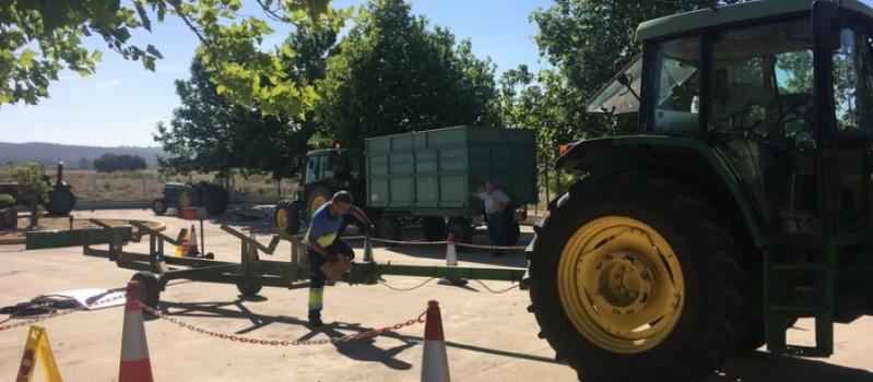 Esta semana podrás pasar la ITV a tu tractor en Maribáñez, El Saucejo y Aznalcóllar