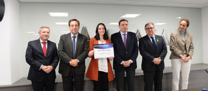 Cristina Lara, socia de ASAJA-Sevilla, finalista en los Premios nacionales