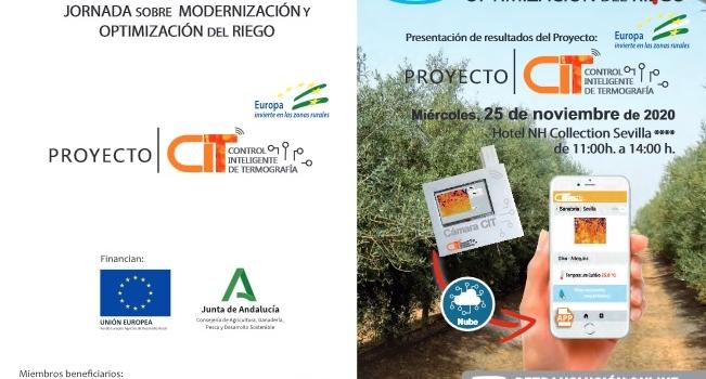 Modernización y optimización del riego: ASAJA-Sevilla ofrece las claves para conseguirlo el próximo 25 de noviembre