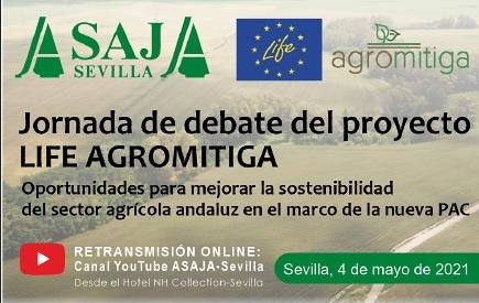 ¡Participa con tus preguntas en la Jornada de debate online del proyecto LIFE Agromitiga!